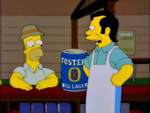 Recordamos que hasta Homero fue intimidado por como tragan estos muchachos.