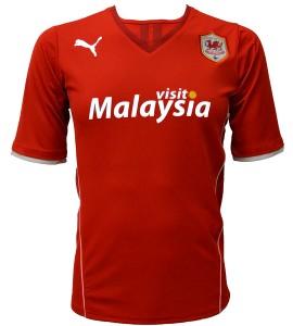 Puma de Cardiff City.