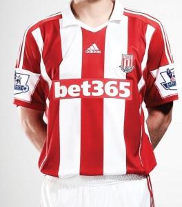 Adidas de Stoke City.