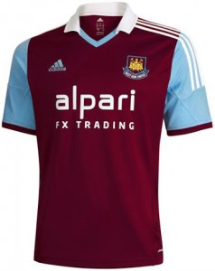 Adidas del West Ham.