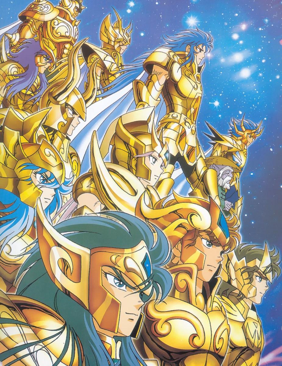 Paréntesis para recordar a los mejores griegos que conocimos en nuestra niñez, los Caballeros Dorados.