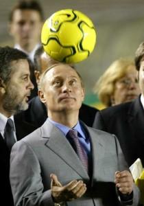 ¿Será la selección tan agresiva como su presidente. Vladimir Putin?