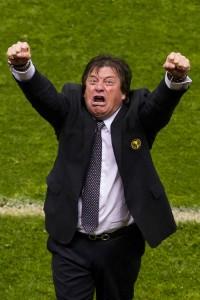 """El """"Piojo"""" Herrera espera festejar así en el Mundial"""