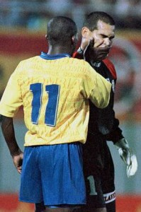 Asprilla vs. Chilavert