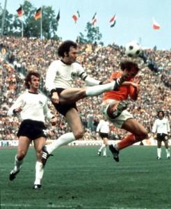 Franz Beckenbauer, antes de ser yeta.