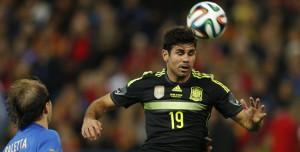 El jugador más odiado del torneo: Diego Costa.