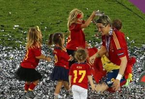 Las mujeres aman a Fernando Torres desde temprana edad.