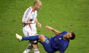 Otro momento histórico de la selección francesa.