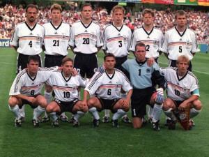 Alemania en Francia 1998, la última vez que no accedió a una semifinal.