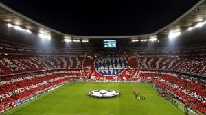 Los hinchas se suman para cooperar en el show. La Bundesliga es un espectáculo para todos.