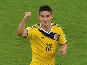 La magia tenía que ser sudamericana, pero esta vez, vino de Colombia. James, el distinto.