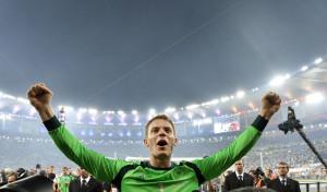 El gran Neuer. Figura destacada de Alemania.
