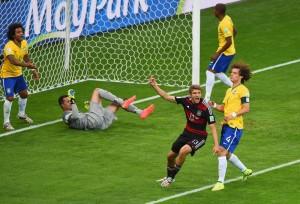 El gol de Muller, el comienzo de la pesadilla.