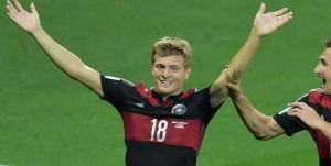 Gol, festejo, un sueño. Goleada a Brasil en su propio Mundial.