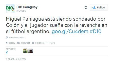 Paniagua soñaba tanto con su revancha al fútbol argentino, que fichó por el Ciclón. Pero no le dijeron que era el de Paraguay.
