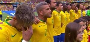 Las lágrimas, una constante en todo el Mundial para Brasil.