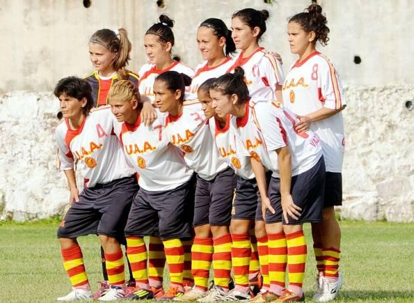 Equipo de la UAA que disputó la Libertadores. Foto: abc color.