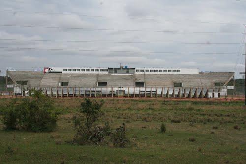Cancha que, 6 meses atrás, se usaba en la Primera División de Paraguay.