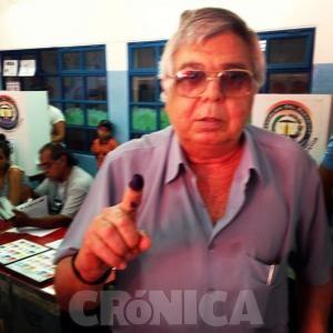 ODD y su voto en las internas. La foto es de Crónica, clarito.