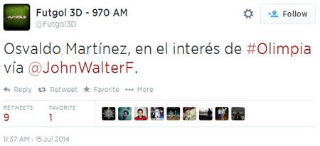 Humo a medias. Porque en el interés de todos los clubes del mundo están todos los jugadores buenos del mundo, jugátela, Walter (?).