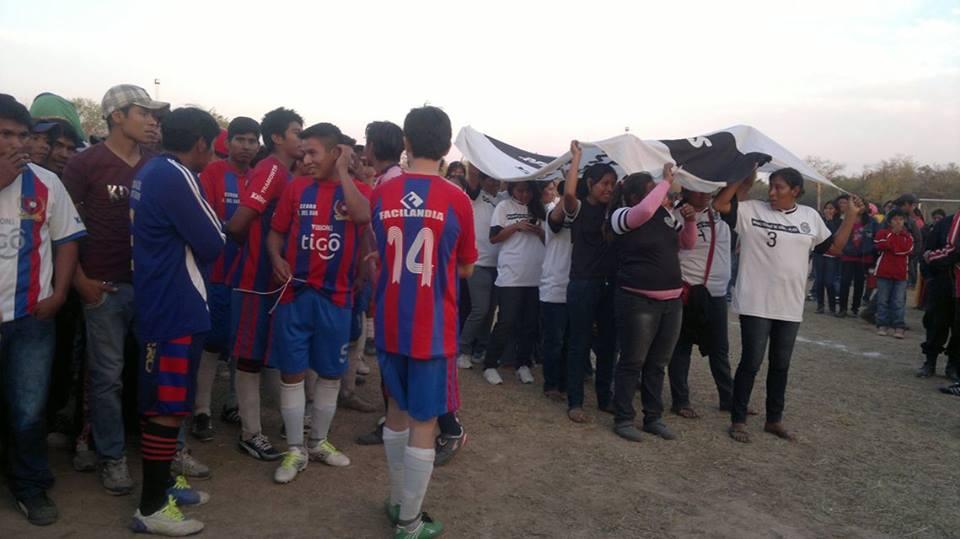 Clásico en Liga Aborigenes del Chaco. Cerro América del Sur y Olimpia Yalve Sanga