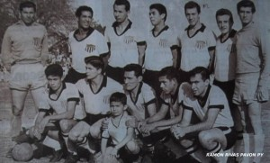 El equipo campeón de 1964, que disputó la Libertadores el siguiente año (Ramon Rivas Pavón)