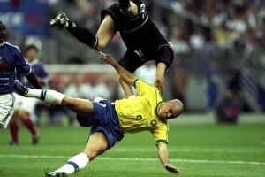Una imagen que resume el partido de Ronaldo.
