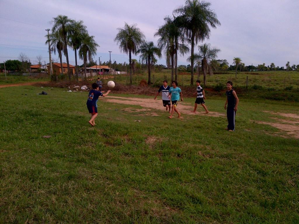 Niños barrio San Blas