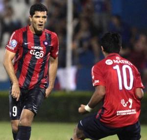 La dupla del gol,  José Ortigoza y Sergio Díaz (IP Paraguay)