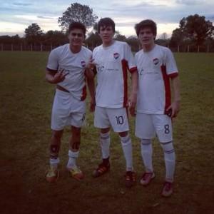 jugadores de la liga Rosarina.