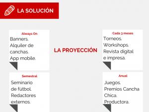 Estos son los productos que se vienen para hacer que Cancha Chica sea sustentable.