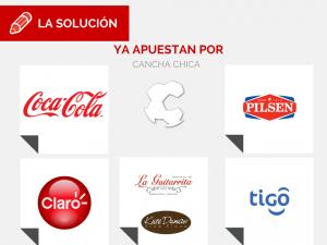 Cómo lo vamos a financiar? Estas son solo algunas de las marcas que ya tienen puesta la camiseta de Cancha Chica