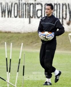 Bobadilla, entrenando en Olimpia.