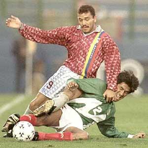 El único goleador venezolano de la Copa: José Luis Dolgetta