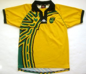 Si Jamaica usa este diseño de 1998 capaz pueda pasar de ronda