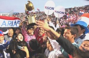 Todo Barrio Obrero festejó el título de Nacional