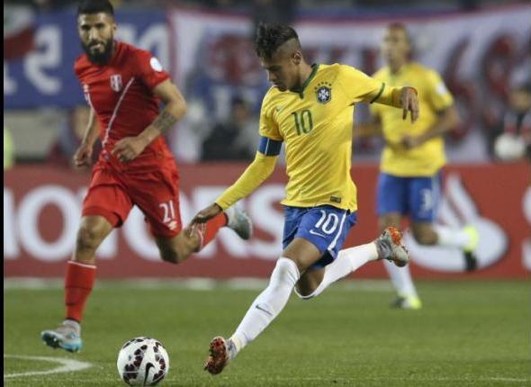 Neymar, la figura del domingo. Seguido por el @Melizeche peruano.