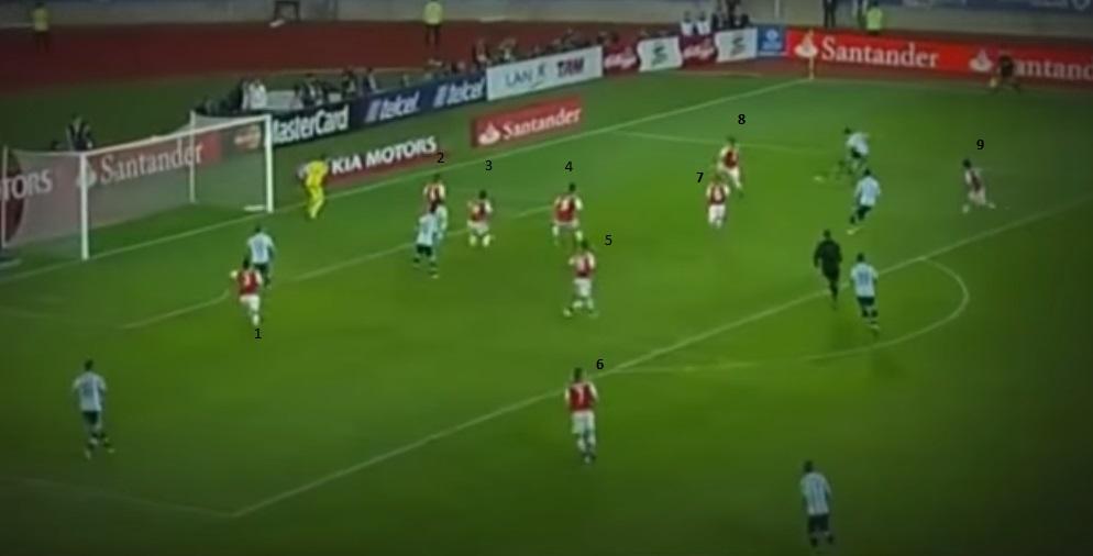 paraguay defendiendo