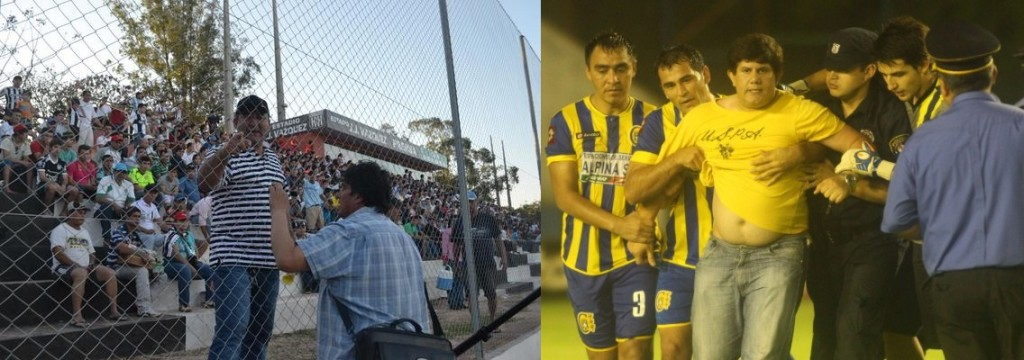"""Los presidentes que más se han """"destacado"""" por sus declaraciones: Néstor Arévalos y Oscar Barreto (Johanna Cuquejo/Tigo Sports)"""