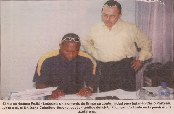 El momento más destacado de Froylan Ledezma en Cerro