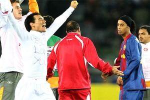 Así terminó Ronaldinho, el ídolo del Barcelona y del Gremio