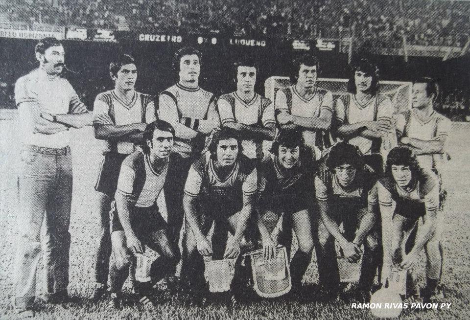 El equipo que dio las primeras alegrías continentales a Luqueño (Ramón Rivas Pavón)