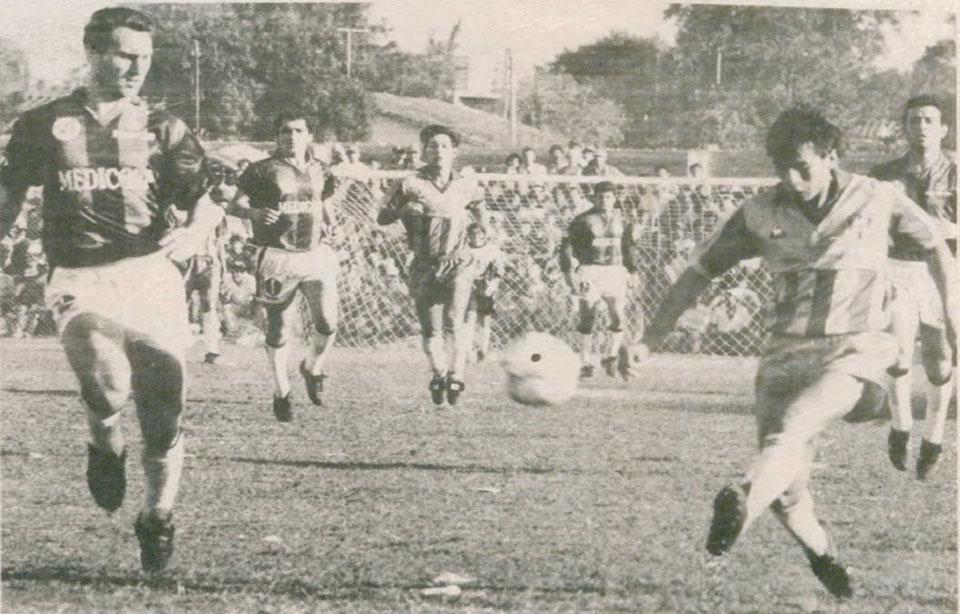 Julio César Yegros abre el marcador contra San Lorenzo (ABC Color)