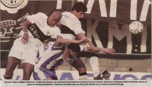 Osman López, un error defensivo viviente