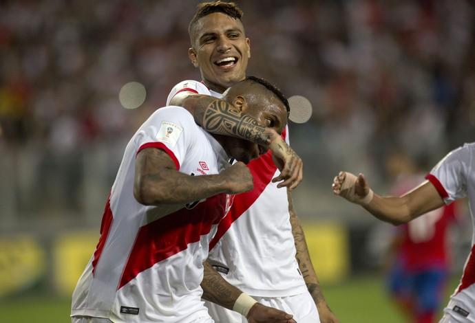 El máximo peligro en la siguiente fecha: Guerrero y Farfán (Globo Esporte)
